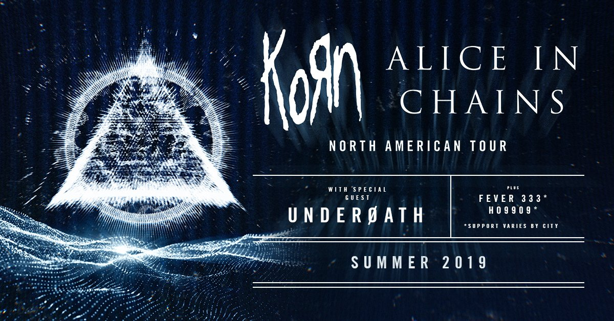Korn and Alice in Chains