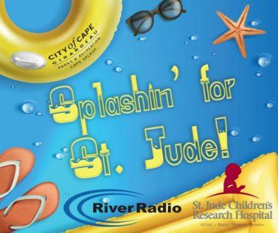 Splashin for St Jude social