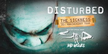 Disturbed Sickness 20th Anniversary Tour